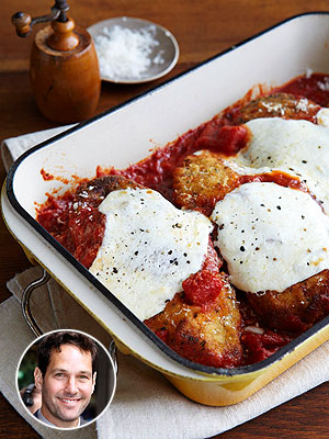 Paul Rudd Jasper's Chicken Parm Recipe