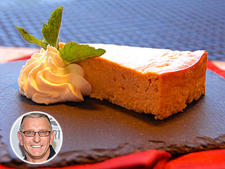 Robert Irvine's Healthy Pumpkin Cheesecake Recipe