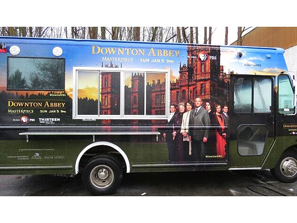 The 'Downton Abbey' Tea Truck in NYC