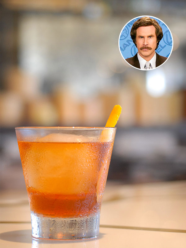 Ron Burgundy cocktail