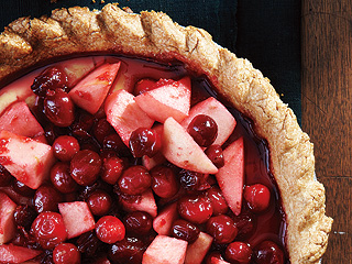 Thanksgiving Dessert Recipes: Cranberry Pie by The Beekman Boys