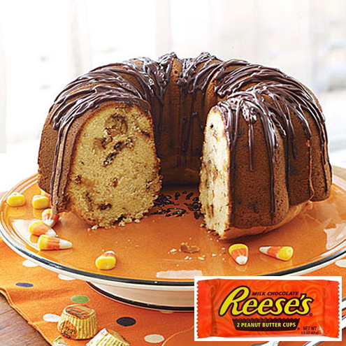 Reese's Peanut Butter Cups Cake recipe