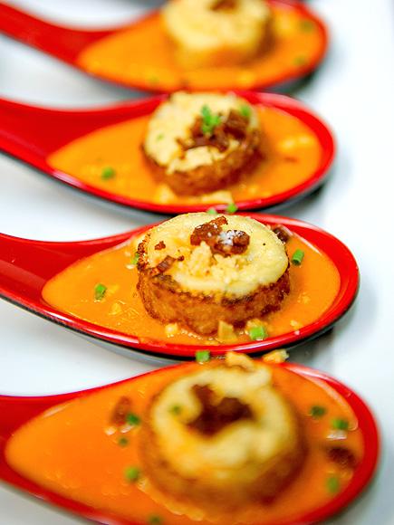 Beauty & Essex Grilled Cheese Dumplings