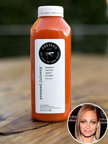 Nicole Richie's Carrot-Beet Juice Recipe
