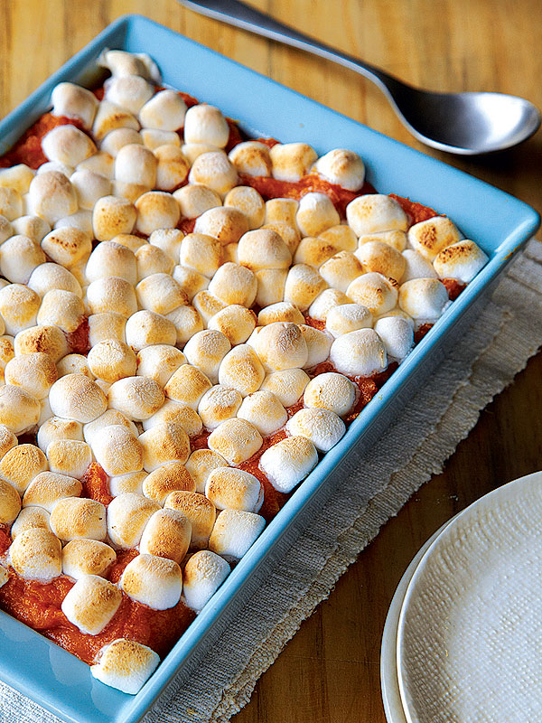 Recipe Low Fat Sweet Potato Marshmallow Casserole Great
