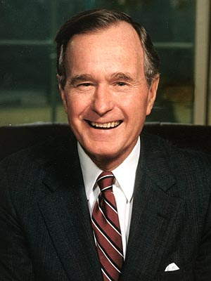 George H W  Bush's Condition Improves