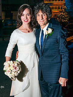 Rolling Stones&#39; Ronnie Wood Weds 34-Year-Old Fianc&#233;e | Ronnie Wood