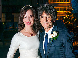 Rolling Stones' Ronnie Wood Weds 34-Year-Old Fiancée | Ronnie Wood