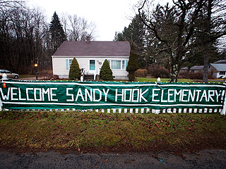 Sandy Hook Students Return to Classes at New School