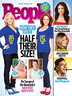 Meet PEOPLE's Half Their Size Cover Girls!