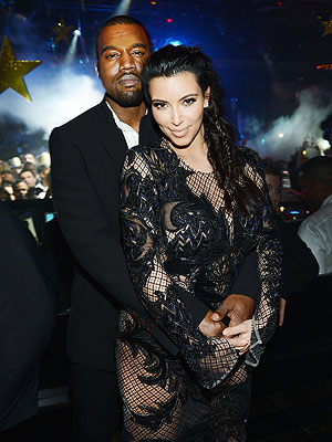 Kim Kardashian Pregnant New Year's Eve with Kanye West