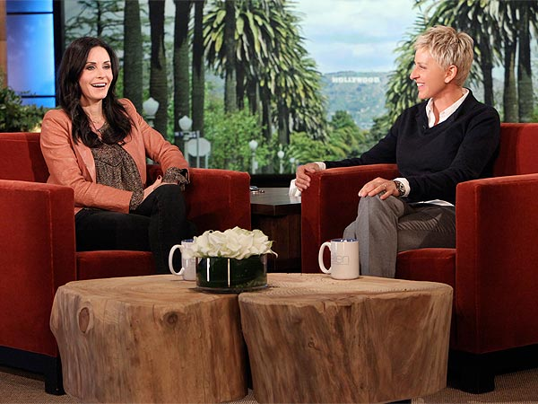 Courteney Cox: Ex David Arquette Is Still My 'Best Friend in the World' | Ellen DeGeneres