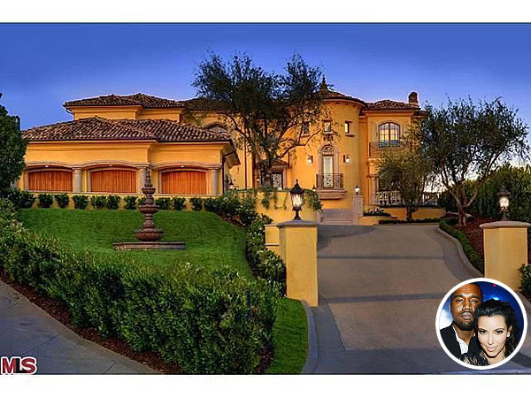 Kim Kardashian & Kanye West $11 Million Mansion