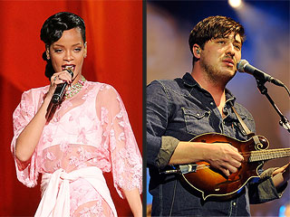 Taylor Swift, Rihanna and fun. Will Perform at Grammys | Marcus Mumford, Rihanna