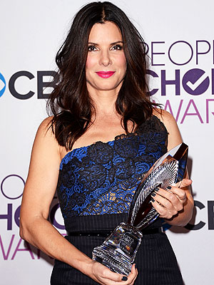 Sandra Bullock Honored at People's Choice Awards for New Orleans Support