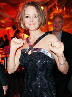 Jodie Foster Backstage: Why the Globes Felt Like &#39;Graduation&#39; | Jodie Foster