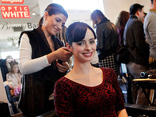Krysten Ritter Models Hair After Pal Nina Dobrev | Krysten Ritter