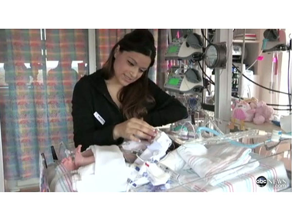 Audrina Cardenas, Baby Born with Heart Outside Chest, Goes Home