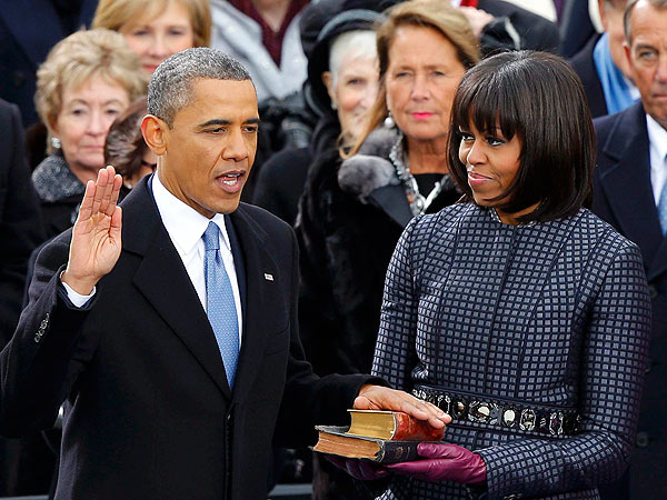 Beyonce Sings Stirring National Anthem at Barack Obama Inauguration| Barack Obama, Beyonce Knowles, Kelly Clarkson, Michelle Obama