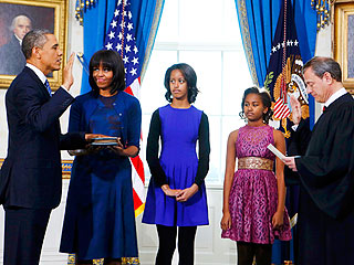 President Obama Officially Sworn In for Second Term | Barack Obama