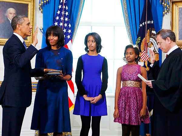 Presidential Inauguration - President Obama Sworn In for Second Term