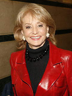 Barbara Walters Hospitalized After Inauguration Weekend Fall | Barbara Walters