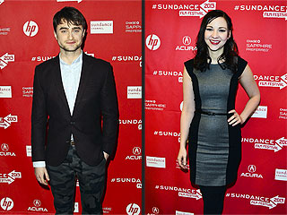 Daniel Radcliffe Seen Kissing Costar in Sundance | Daniel Radcliffe