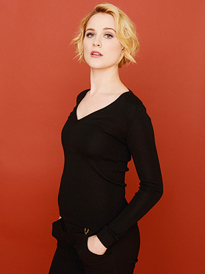 Pregnant Evan Rachel Wood Debuts Baby Belly