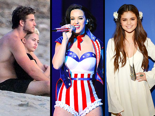 5 Things You Missed: A Star-Studded Presidential Inauguration, Miley Cyrus's Sunny Winter Vacay and Selena Gomez Sings About Bieber