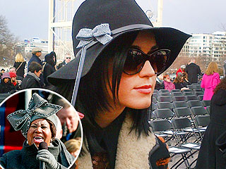 The Bow's Back! Katy Perry Channels Aretha at Inauguration | Katy Perry