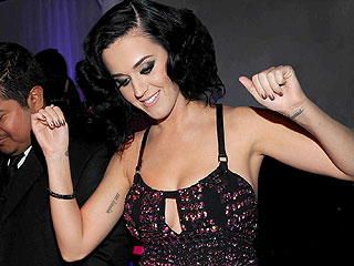 Katy Perry Sparkles at Gambling Night in West Hollywood