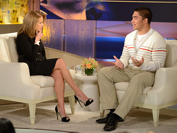 Manti Te'o's Real Ex-Girlfriend Speaks Out: He Was the Victim of a Hoax| Scandals & Feuds, Katie Couric, Manti Te'o