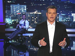 VIDEO: Matt Damon Takes Over Jimmy Kimmel Live | Jimmy Kimmel, Matt Damon