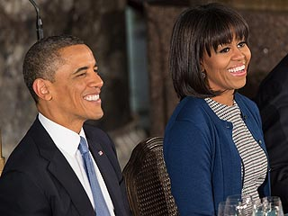 What Does President Obama Think of Wife Michelle's New Bangs? | Barack Obama, Michelle Obama
