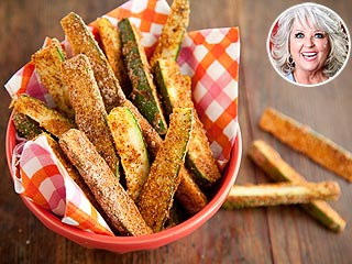 Try Paula Deen's 'Mighty Good' Zucchini Fries