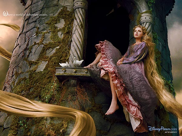 Taylor Swift Poses for Disney, Annie Leibovitz