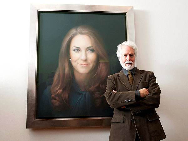 Kate's Official Portrait Artist Defends Criticized Painting, Says He's Got Another