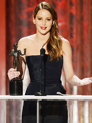 SAG Awards: Jennifer Lawrence Feeling Better