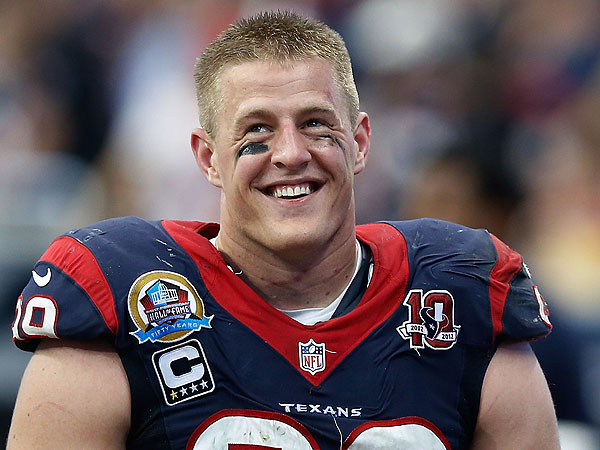NFL Star J. J. Watt 'Proposes' to 6-Year-Old Fan| Good Deeds