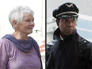 Denzel Washington, Judi Dench Honored by 'Movies for Grownups' Awards