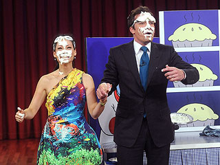 VIDEO: Jimmy Fallon Creams Lucy Liu | Jimmy Fallon, Lucy Liu