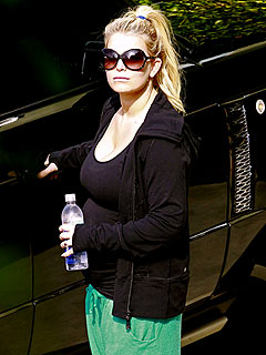 PHOTO: Jessica Simpson Takes Her Bump for a Workout | Jessica Simpson