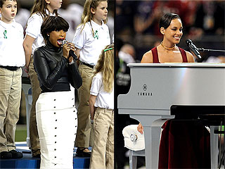 Jennifer Hudson & Alicia Keys Deliver Powerful Super Bowl Performances