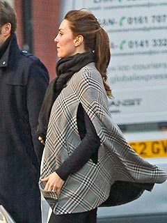 Caped Kate Steps Out: Is That a Royal Baby Bump? | Kate Middleton