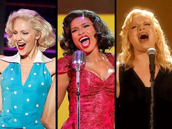 Smash: Katharine McPhee, Megan Hilty and Jennifer Hudson - Vote on Your Favorite