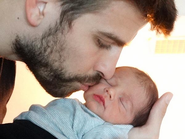 Shakira Gerard Piqué Milan First Photo