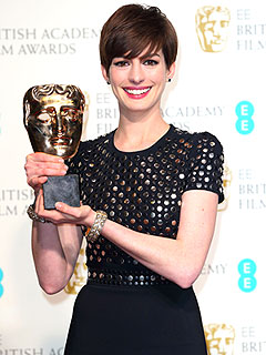 Where Anne Hathaway Plans to Keep Her Oscar ... If She Wins! | Anne Hathaway
