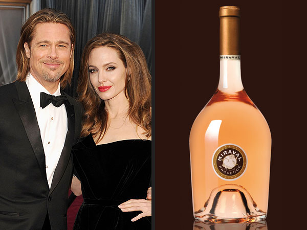 Angelina Jolie, Brad Pitt Releasing Wine; Miraval Wine Due Out in March