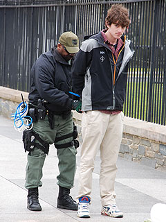 PHOTO: Conor Kennedy Handcuffed & Arrested for Civil Disobedience