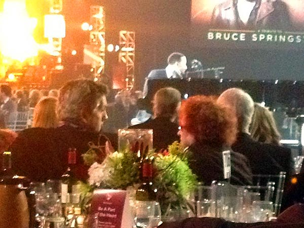 Katy Perry (Sort Of) Steals Spotlight at Bruce Springsteen Pre-Grammy Tribute| Grammy Awards 2013, Hot Topics, News Franchises, Individual Class, Bruce Springsteen, Faith Hill, Katy Perry, Tim McGraw
